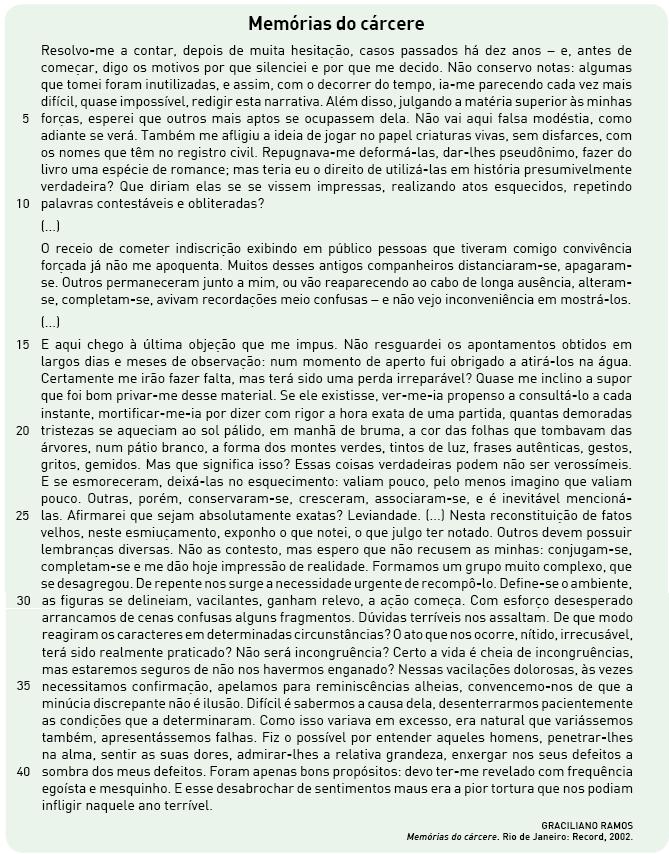 Muitas vezes Questões Comentadas | Revista Eletrônica do Vestibular MW69